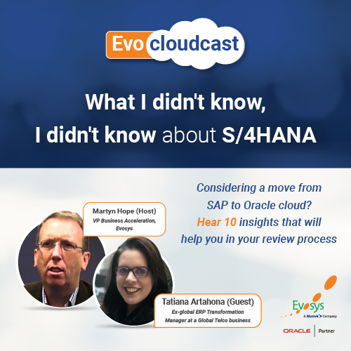 What I didn't know, I didn't know about S/4HANA